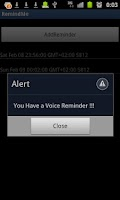 Screenshot of Voice Memo plus