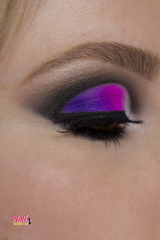 cut crease colorida