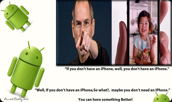 you don't have an iphone