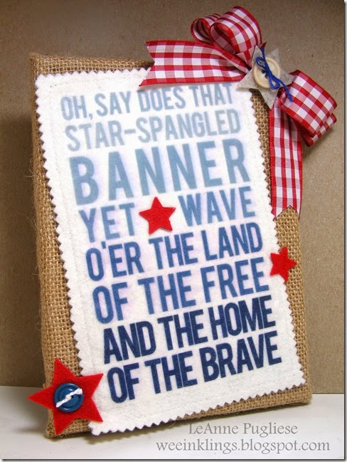 LeAnne Pugliese WeeInklings ColourQ248 Patriotic Wall Art Digital