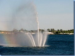 7781 Ontario  - Sault Ste Marie - Millenium Fountain rainbow