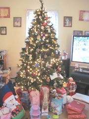 Christmas Day 2012 Bellz tree