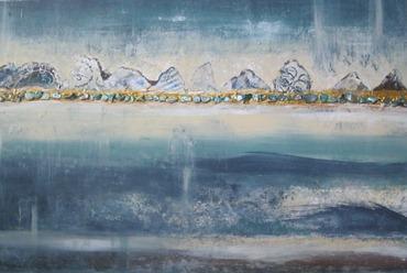 abstract scottish landscape