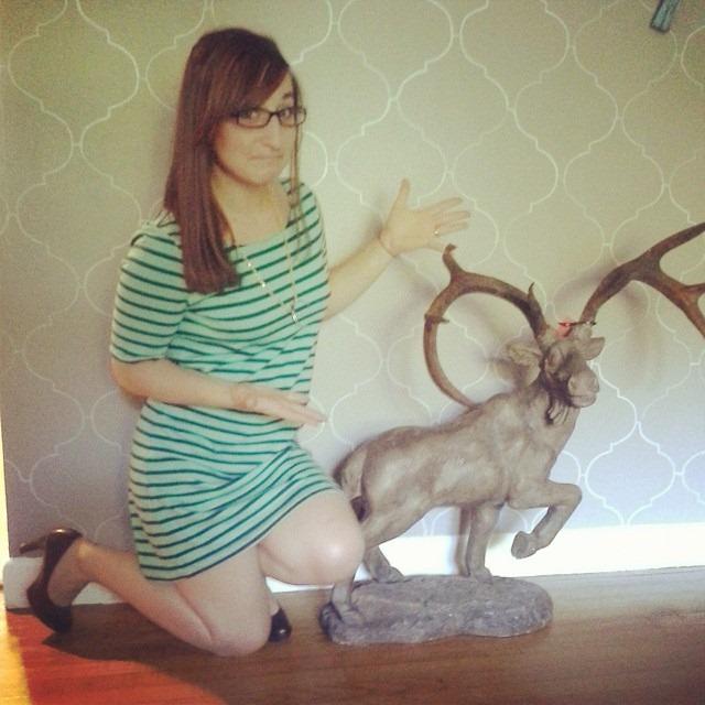 thriftscorethursday sandpaperglue moose