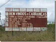 Placa Carrancas