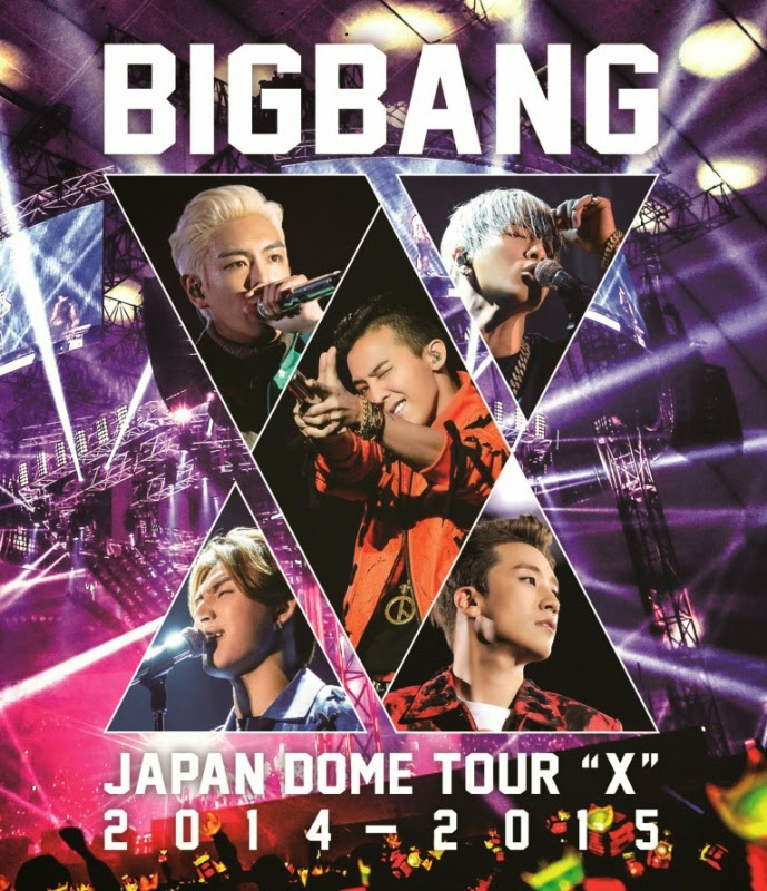 Big Bang - BIGBANG JAPAN DOME TOUR 2014〜2015 X CD - 01.jpg