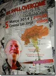 Pete Seeger no São Jorge. Mar.2014