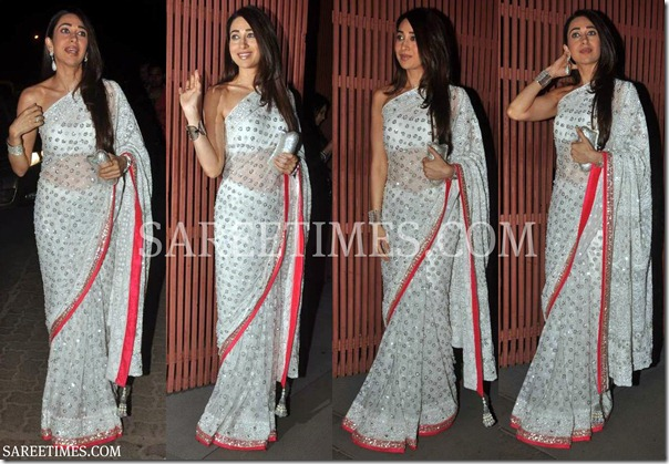Karishma_Kapoor_White_Embroidery_Saree