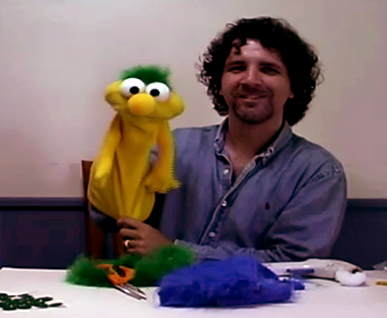 hand puppet Paul Lewis