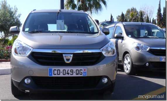 Dacia Lodgy testdagen 08