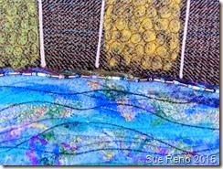 Sue Reno, Spring Thaw, detail 2