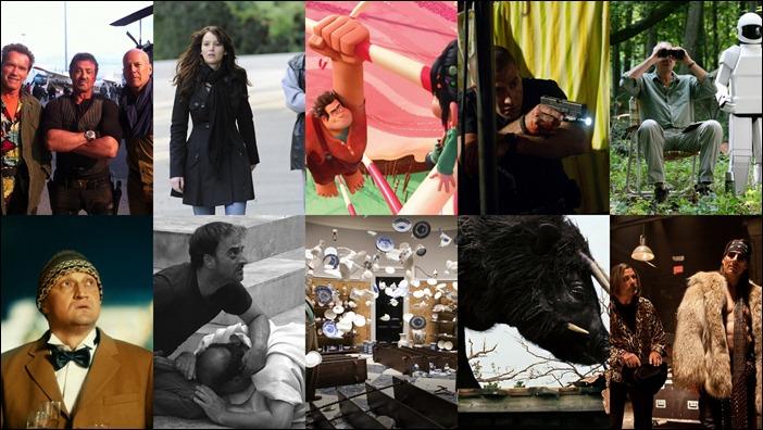 Лучшие фильмы 2012 по версии Антошки Серого Льва Фролова