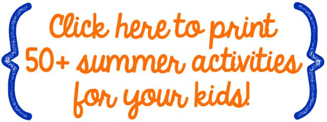 50  summer activities