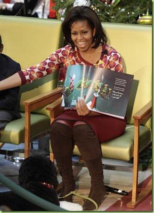 Michelle Obama Xmas11 3