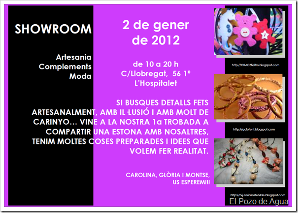 SHOWROOM 2 de enero de 2012