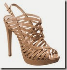 Buffalo Nude Strappy Sandals