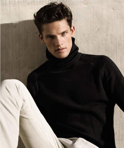 Danny Beauchamp by Alasdair McLellan for Calvin Klein F/W 2011-12