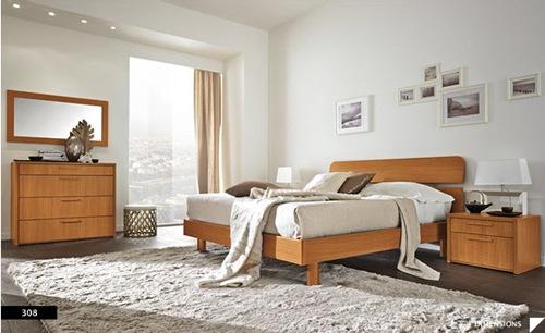 diseños de dormitorios modernos con pisos oscuros
