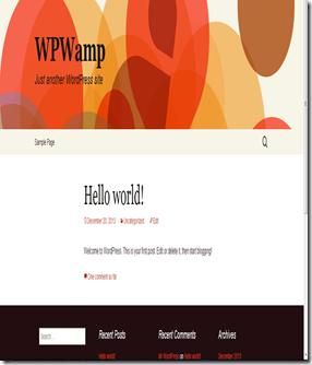 wordpress website offline