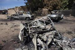 Mali Airstrike Remains
