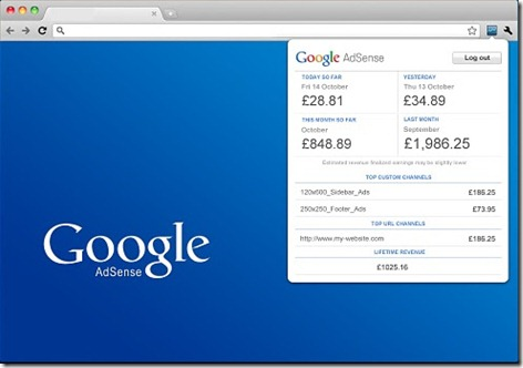 adsense-report-instant-view-extension-chrome