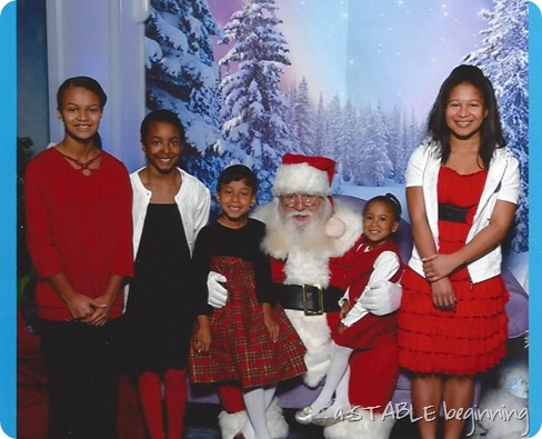 Christmas with Santa 2013