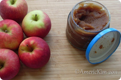 Apple Butter with apples