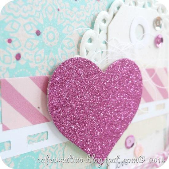 cafecreativo - cuore glitter