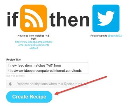 create-recipe-ifttt