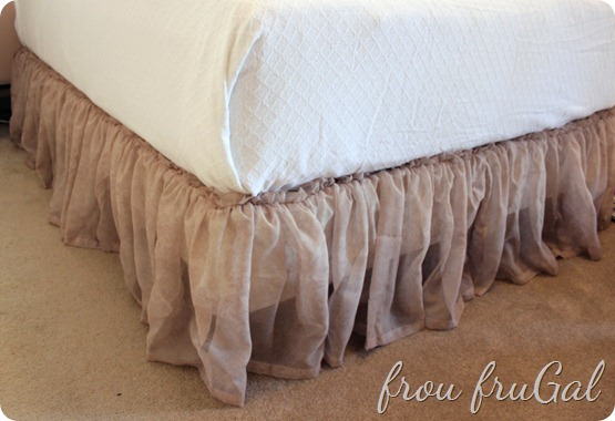 Window Scarf Bed Skirt