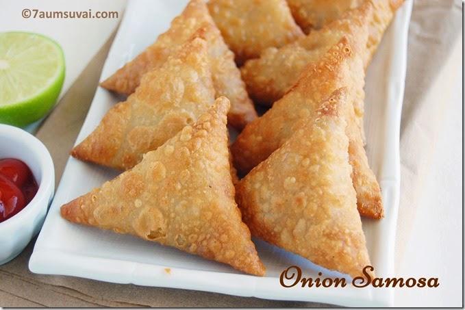 Onion samosa