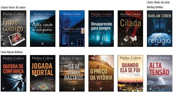 Livros do Harlan Coben
