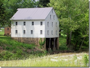 Close-up of the Old Jackson Mill along the West Fork River.