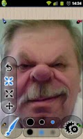 Screenshot of Photo Warp