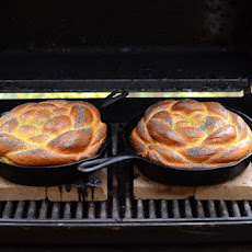 Challah Baked on the Grill