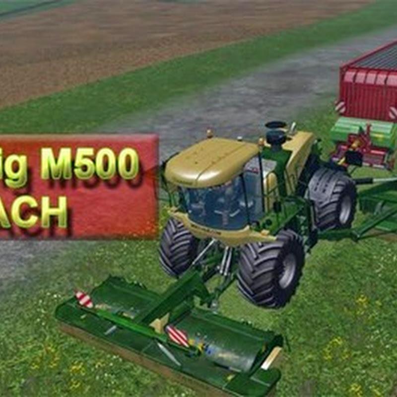 Farming simulator 2015 - Kone Big M500 ATTACH v 1.0