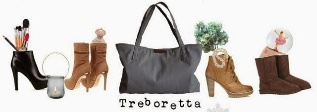 a textilbör táska szürke -treboretta bag