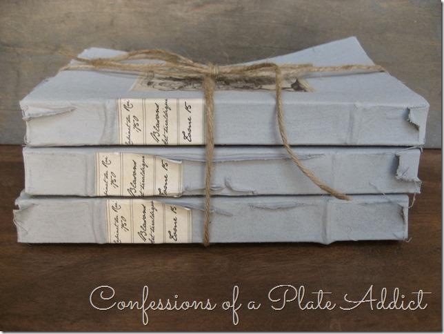 CONFESSIONS OF A PLATE ADDICT Restoration Hardware Inspired Vintage Book Bundle