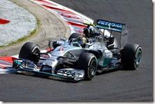 Rosberg ha conquistato la pole del gran premio d'Ungheria 2014