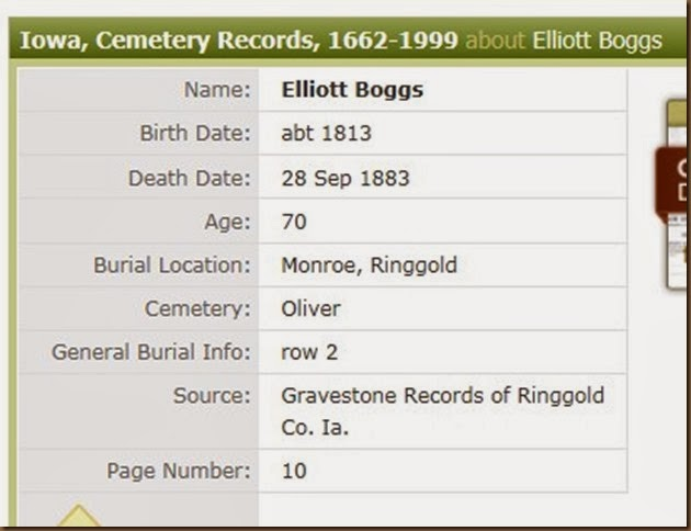 BOGGS_Elliott_Ancestry Cem record screen shot