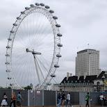 london eye in London, London City of, United Kingdom