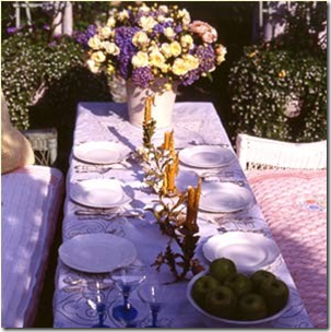 lavender table setting vai insprired-design.tumblr