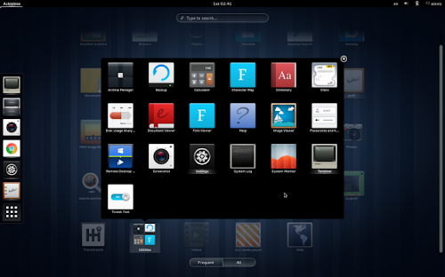 Nitrux Icons 3.0 su Gnome Shell