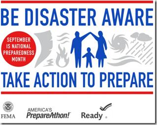 Books on disaster preparedness month