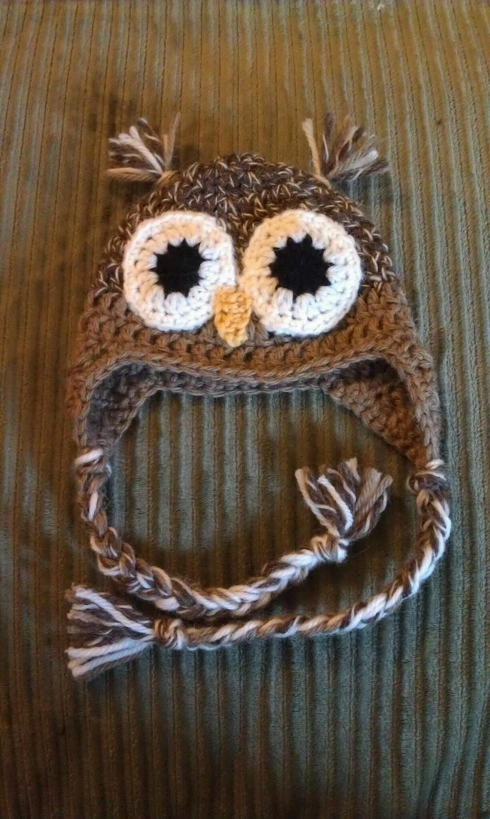 ChemKnits: Owl Earflap Hat