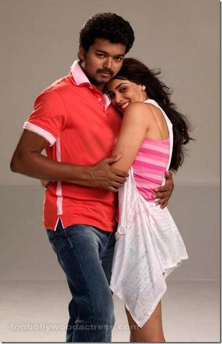 Vijay, Genelia Velayutham movie stills 16