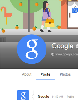 Las similitudes entre las interfaces de Facebook y Google+