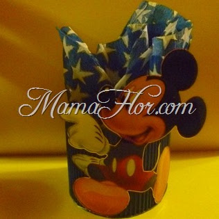 Sorpresa de cartón: Mickey