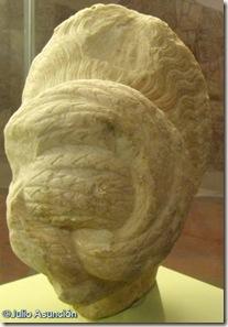 Dama romana - Museo de Jaén - vista posterior
