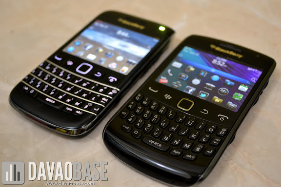 Blackberry Bold 9790 and Curve 9360 phones